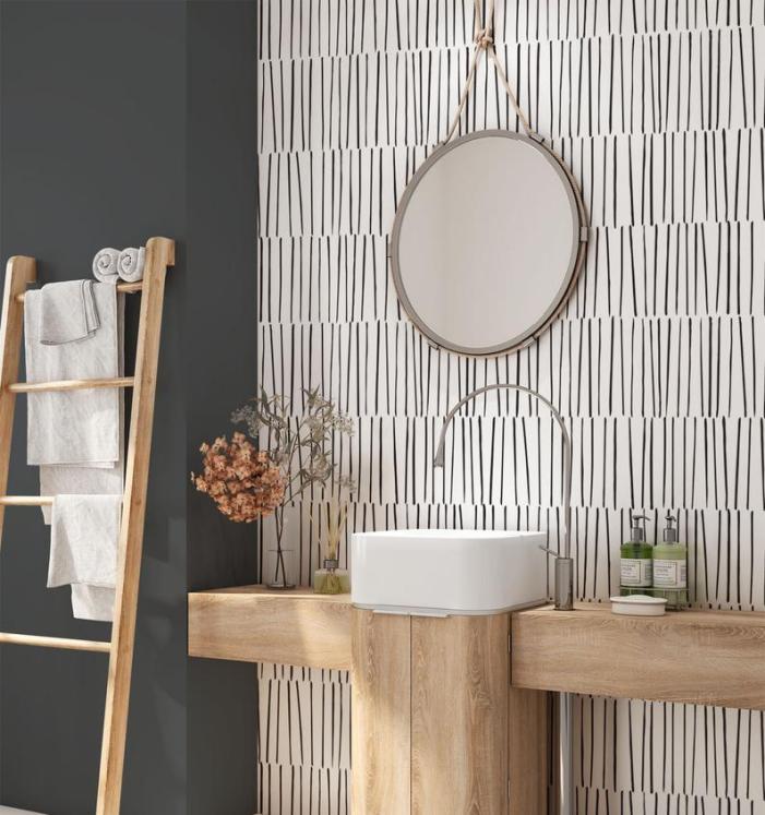 20 Subtle Pattern Peel & Stick Wallpapers