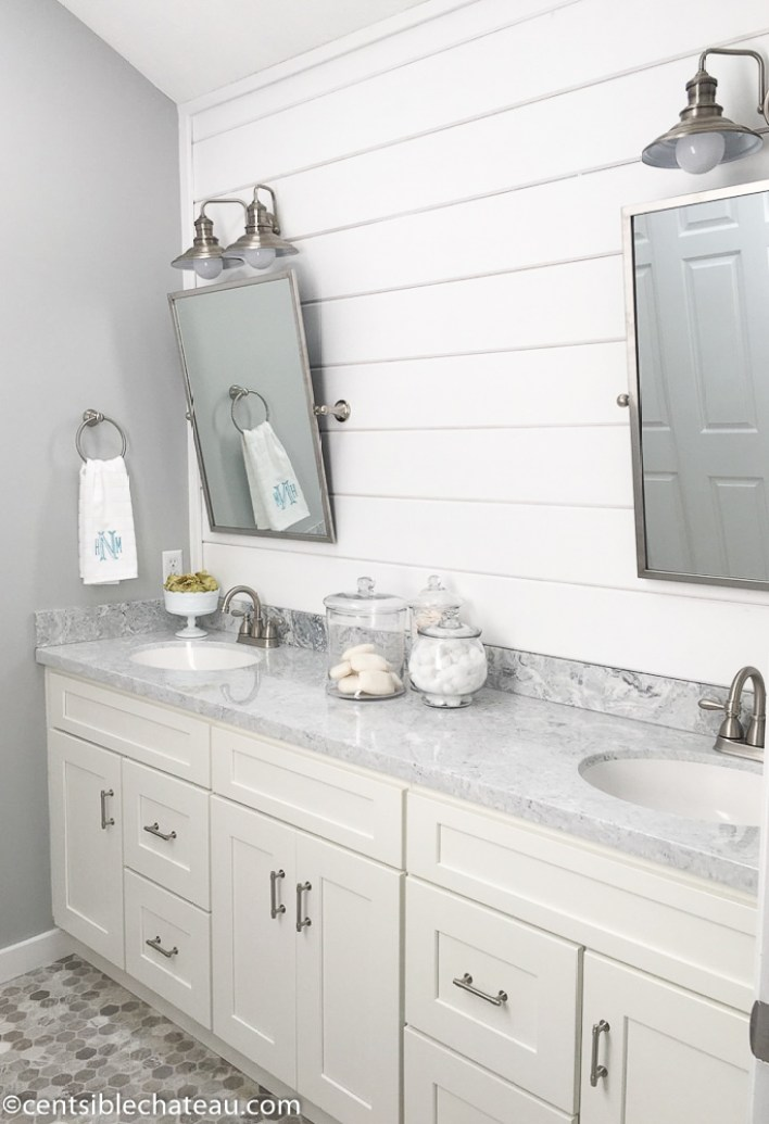 How to remodel your master bathroom on a budget for Master bathroom on a budget