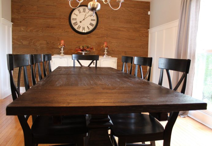 centsible chateau dining room