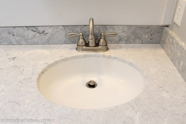 How to Order a Custom Vanity Top on a Budget CentsibleChateau.com