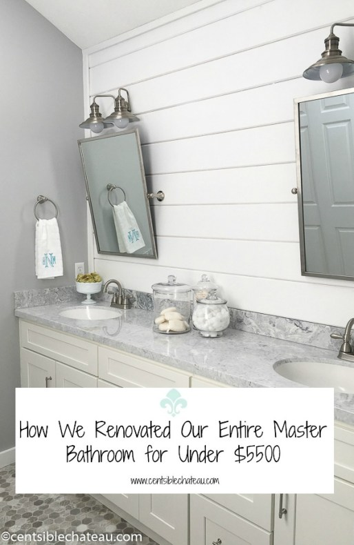 How to Renovate Master Bathroom on a Budget