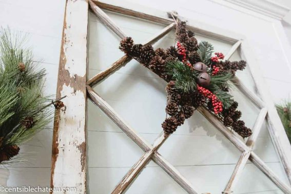 Farmhouse Holiday Decor on a Budget