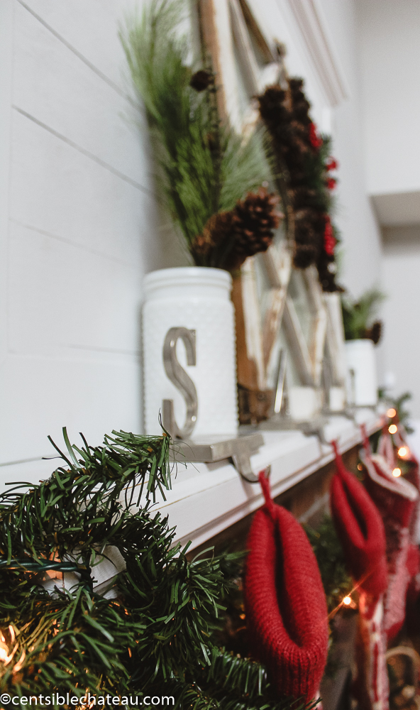 Farmhouse Christmas on a Budget centsiblechateau.com