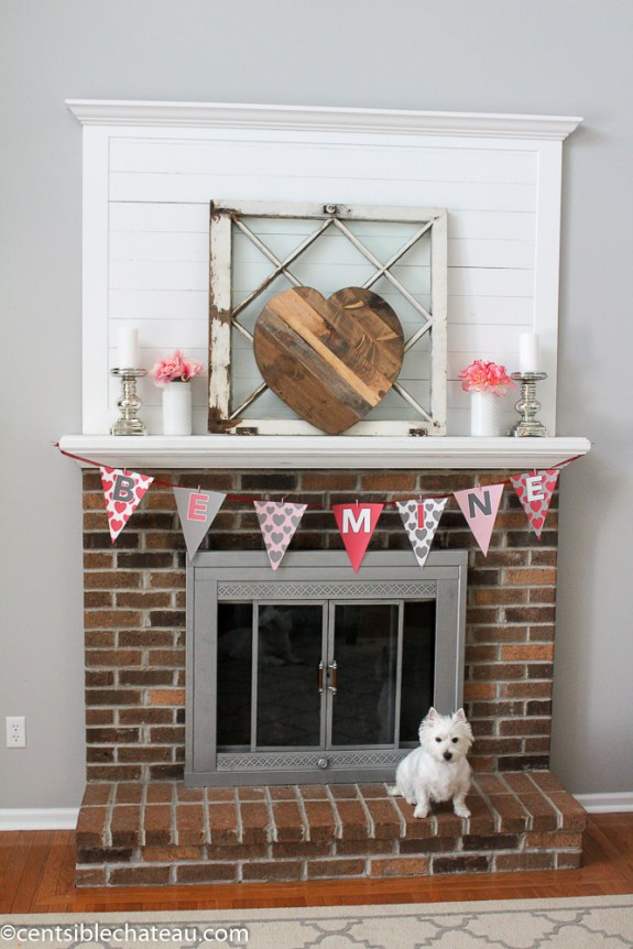 Free Valentine's Day Banner and Cards CentsibleChateau.com