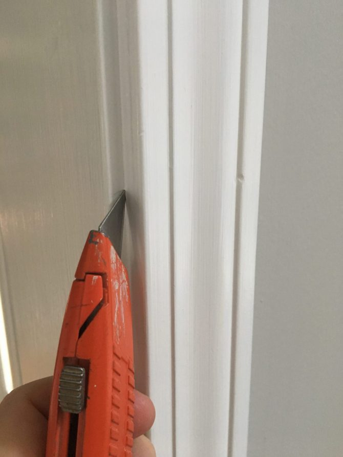 Farmhouse Door Trim Tutorial CentsibleChateau.com
