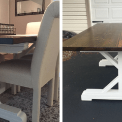 DIY Video: Building a Farmhouse Style Table