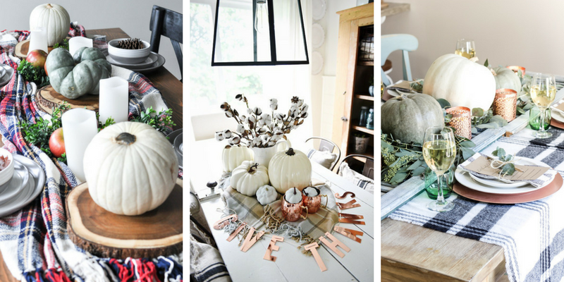 10 Farmhouse Style Fall Tablescapes