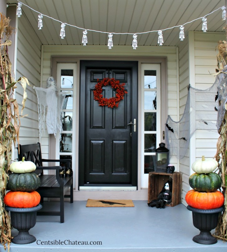 Petrifying Halloween Porch Decorations