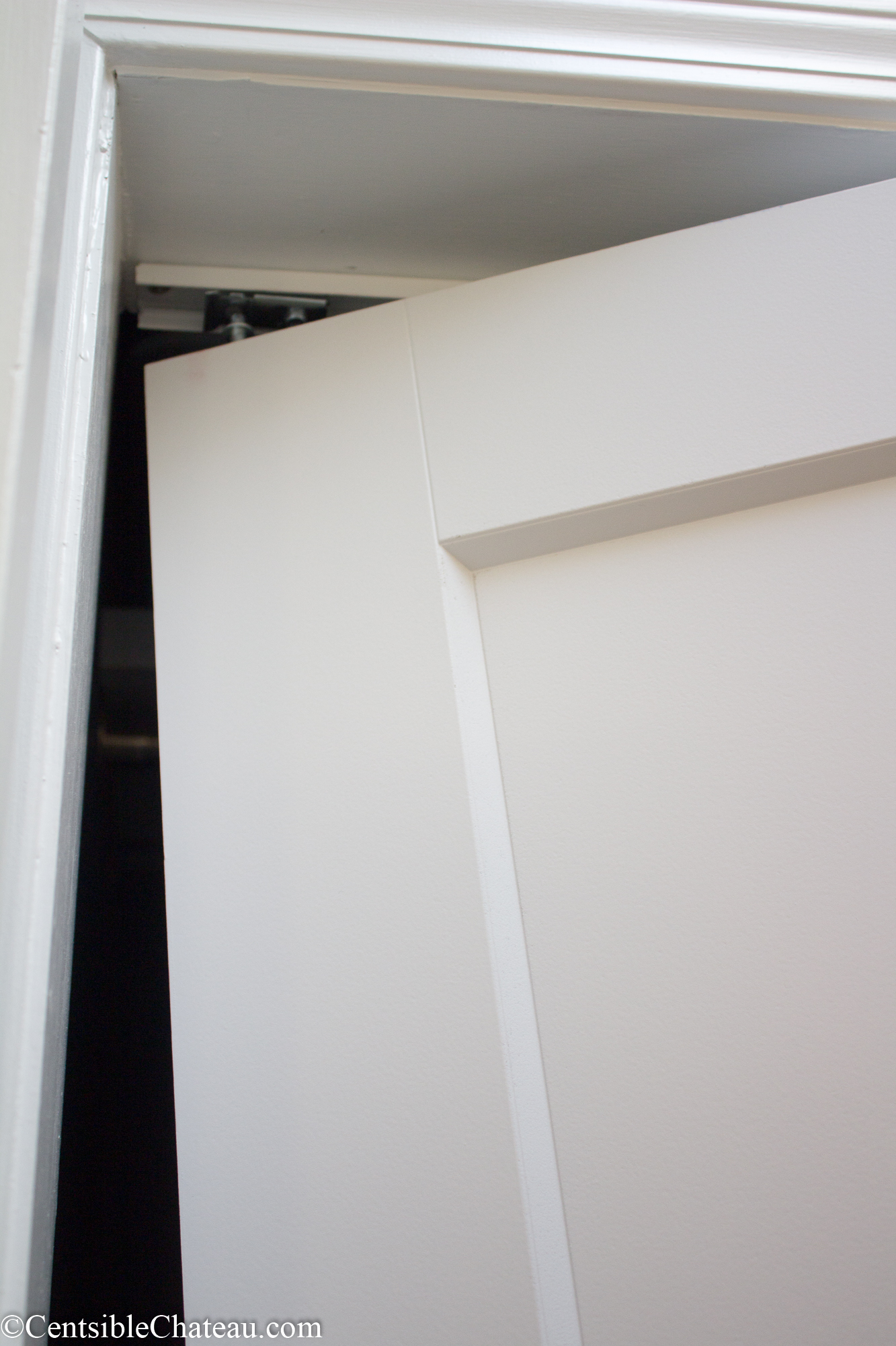 handymanhowto white how masonite prefinished closet installation fold com full to a door plantation louver install bi model