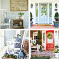 21 of the Prettiest Farmhouse Style Porches for Your Inspiration