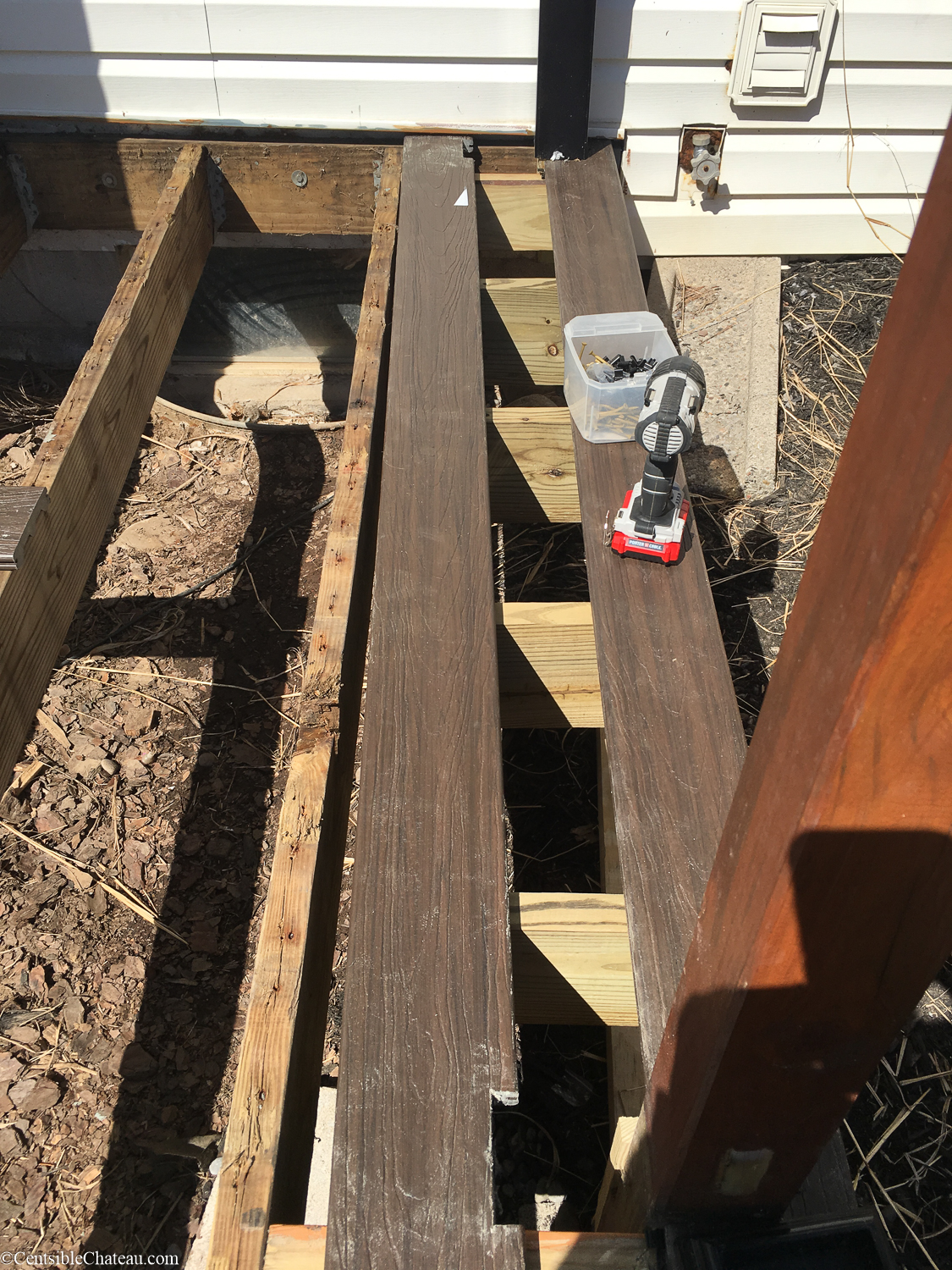 How to Replace Your Deck with a Lowe's Composite Deck by Tropics