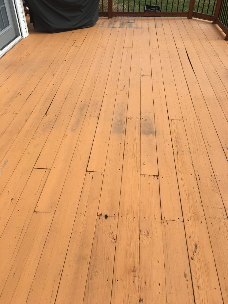 How to replace your existing deck with a lowe 39 s composite for Who makes tropics decking