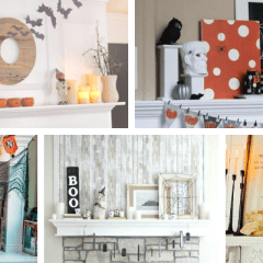 10 Spectacular and Spooky Halloween Mantel Ideas