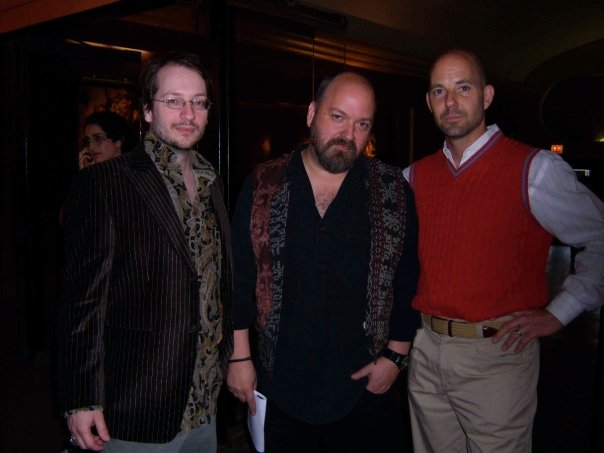 Thomas Negovan, Dave McKean, and Stuart Tomc
