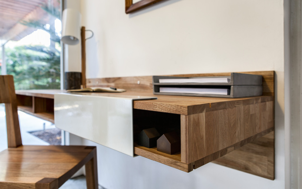 LAX Series Wall Mounted Desk The Century House Madison WI