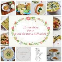 Dix recettes pour fins de mois difficiles