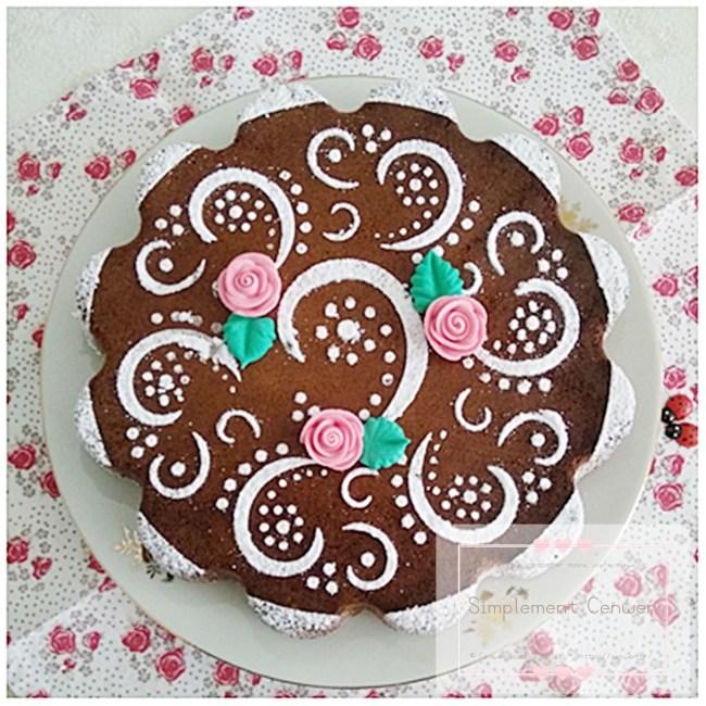 Gâteau au chocolat de Nancy ~ recette traditionnelle du gâteau nancéen au chocolat et aux amandes. Léger et plein de gourmandise ♥ #VivreMieux