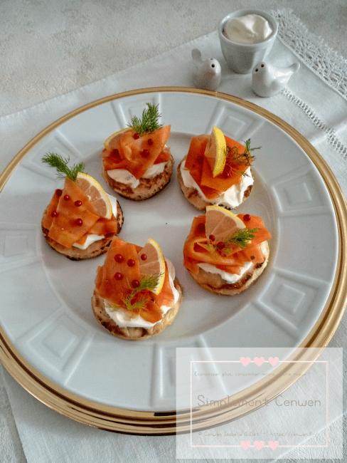 Blinis et gravlax de carottes ~ Menus de fêtes pour petit budget : une recette 100% végétale, bluffante pour se régaler sans ruiner son portemonnaie !