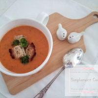 Soupe à la tomate et au paprika