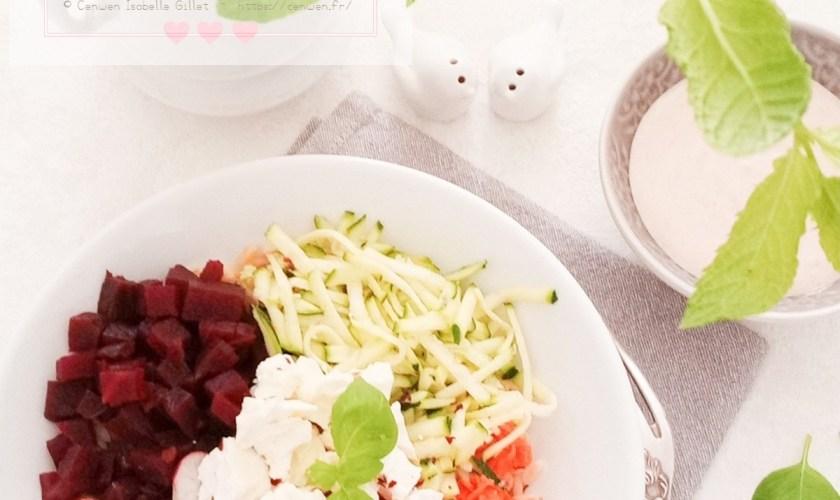 Buddah Bowl  aux légumes d'été