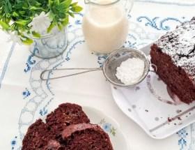 Gâteau chocolat courgette healthy et vegan sans beurre