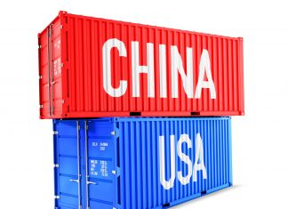 usa chiny transport handel