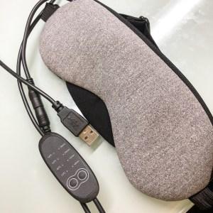 ホット アイマスク USB
