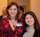Marie Caliger and Kim Tran