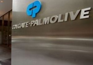 Colgate-Palmolive logo on a building