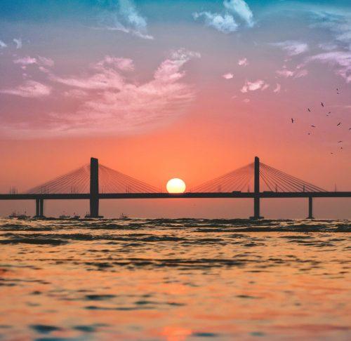 Sea link in Mumbai