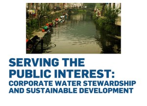 Corporate Water Stewardship and Sustainable Development (2015)