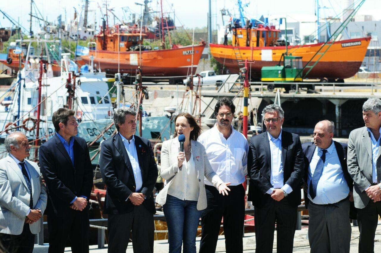 Anuncian reintegros y otras medidas de fomento para la industria pesquera de Mar del Plata