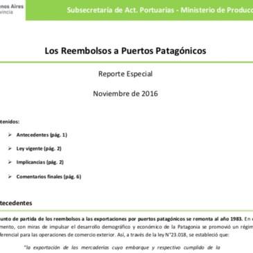 Buenos Aires objeta la existencia de reembolsos para puertos patagónicos