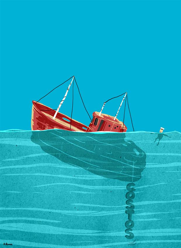 La pesca marplatense, anclada por los costos de producción