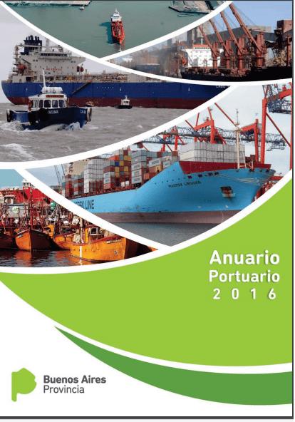 Está disponible el anuario de puertos bonaerenses
