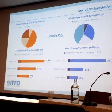Producción mundial de harina de pescado probablemente aumentará en 2018