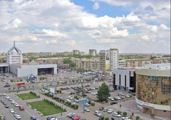 Город Караганда.