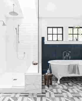 14 Stylish Tile Patterns For Your Floors regarding 14+ How To Tile A Bathroom Floor With Plank Tiles