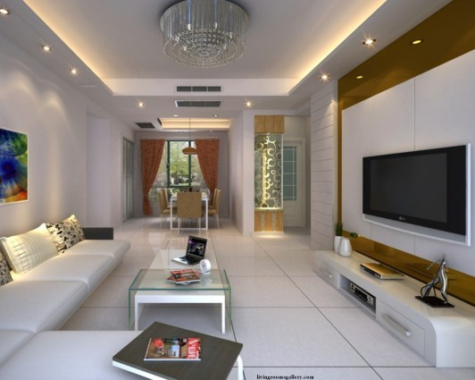 25 Pop False Ceiling Designs With Led Ceiling Lighting Ideas in 10+ Perfect Living Room Ceiling