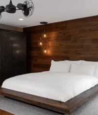 30 Rustic Style Bedroom Ideas For 2019 within ucwords]