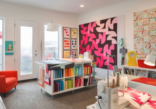 43 Clever Creative Craft Room Ideas Home Remodeling throughout [keyword