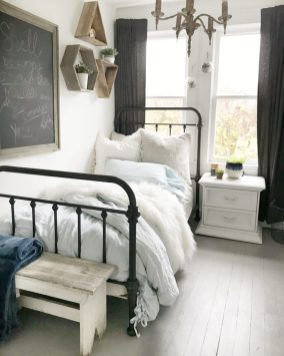 5 Style Tips For A Teen Girls Boho Farmhouse Bedroom Hallstrom Home intended for ucwords]