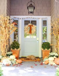 50 Fall Porch Decorating Ideas Outdoor Fall Decor for [keyword
