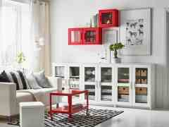 Awesome Living Room Storage Solutions Wearefound Home Design inside [keyword