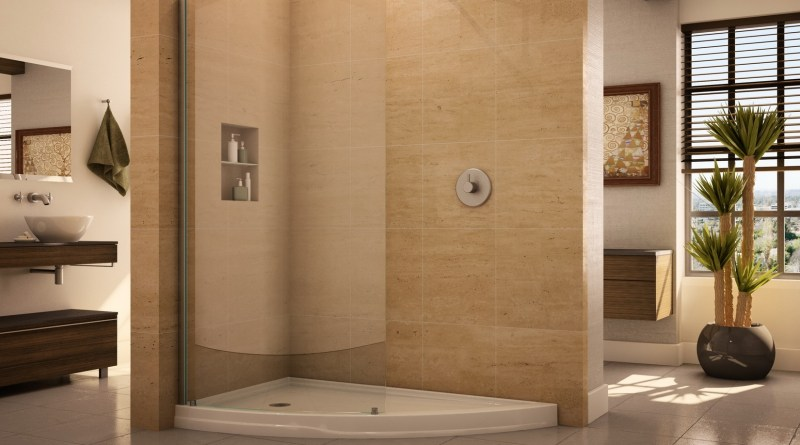 Bathroom Contemporary Walk In Showers Without Doors With in [keyword