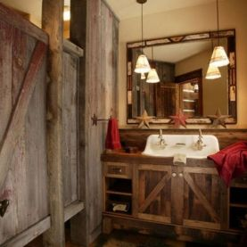 Bathroom Design Sensational Ideas Rustic Country Awesome with [keyword