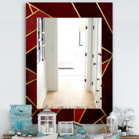 Capital Honeycomb Modern And Contemporary Frameless Bathroom Mirror pertaining to 24+ Fantastic Frameless Bathroom Mirrors
