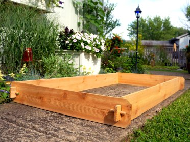 Cedar Raised Garden Bed 3x6 Cedar Raised Planter Vegetable Bed Etsy within [keyword