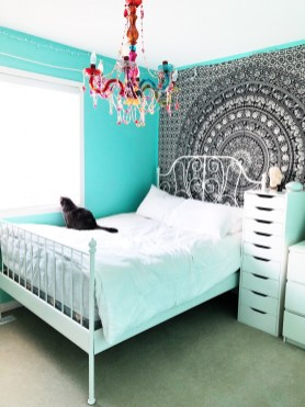 Colourful Boho Bedroom A Pretty Life In The Suburbs pertaining to ucwords]