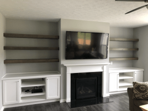 Custom Built Ins with 30+ Best Living Room Cabinets